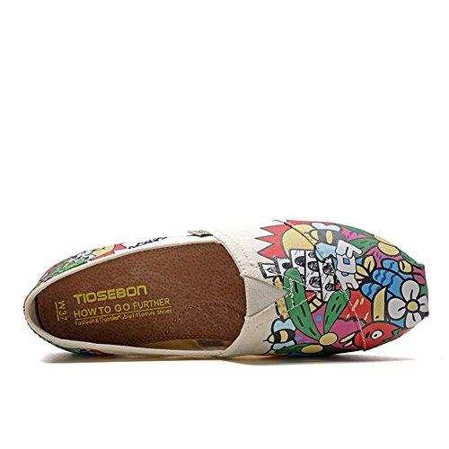 2256 HK2255 Donna Mocassini TIOSEBON Apricot qdptWvwx