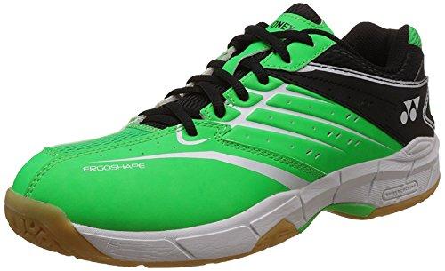 Badminton Shoes Yonex (Yonex Power Cushion SHB CFAX Badminton Shoe, Green/Black/White (8.0))