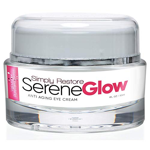 Simply Restore Serene Glow - Anti Aging Eye Cream - Lift and Firm your Eyes and Smile Lines - Help Protect from the Formation of Crows Feet - Protect Your Expression and Beauty - Under Eye Cream