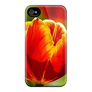 New Arrival Case Specially Design For Iphone 4/4s (beautiful Tulips)