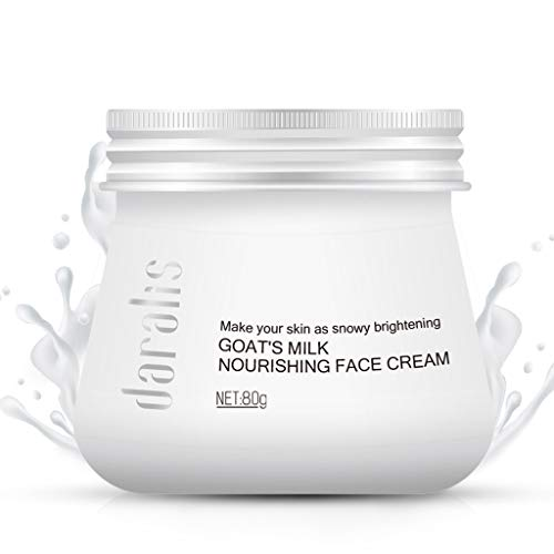 Orcbee  _Goat Milk Whitening Moisturizing Face Cream Combats Wrinkles Concealer Care