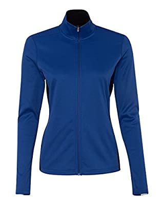 Champion womens 5.4 oz. Perfor Colorblock Full-Zip Jacket (S260)
