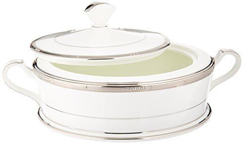 (Noritake Chatelaine Platinum Covered Vegetable Bowl)