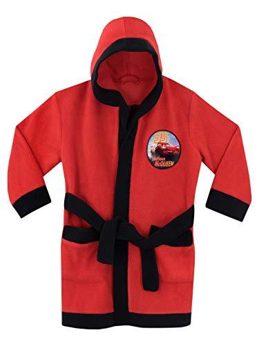 Disney Boys' Cars Lightning McQueen Robe Size 5 ()