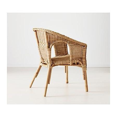 Poltrone Ikea Vimini.Ikea Agen Poltrona In Rattan E Bambu Amazon It Casa E Cucina