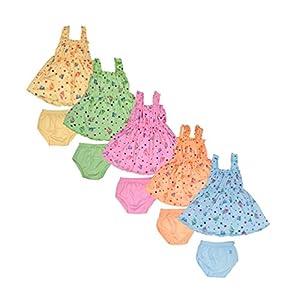 Sathiyas Baby Girl's Dress (Pack...