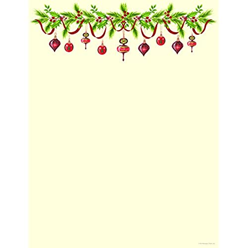 This is a picture of Shocking Printable Christmas Letter Paper