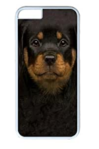 For SamSung Galaxy S6 Case Cover Kids Rottweiler Puppy PC Hard Plastic For SamSung Galaxy S6 Case Cover Whtie