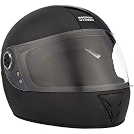 Studds Chrome Elite Full Face Helmet (Black, XL 600MM)