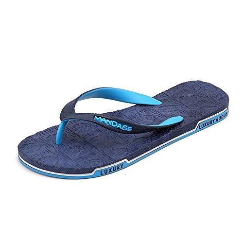 da Infradito da da donna Spiaggia fodera in EU da 2018 Sandalo e Morbido 40 Blu l'estate Uomo Per gomma Marrone shoes perizoma Sandali Dimensione Xujw Viaggiare Color spiaggia uomo Camminare 8PXwTqP
