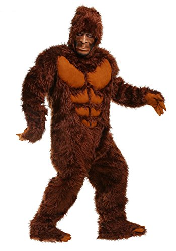 Adult Bigfoot Costume Medium Brown ()