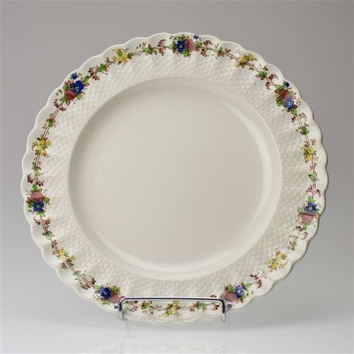 Hazel Dell (White) by Spode, China Dinner Plate