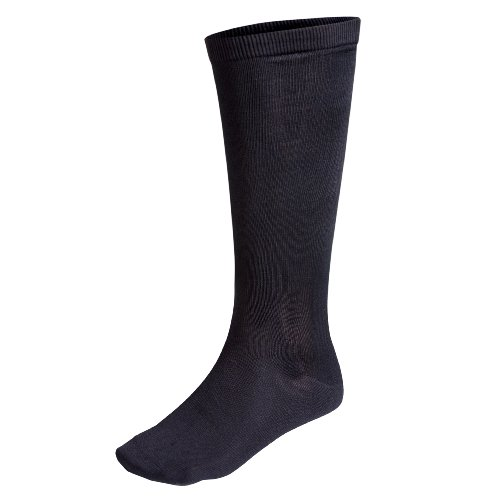 Terramar Thermasilk Sock Liner, Black, Medium ()