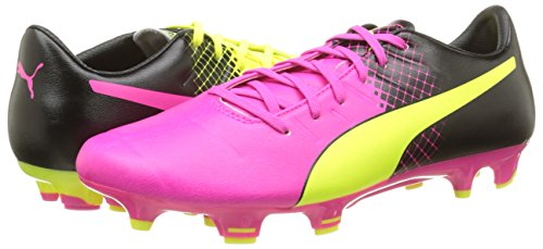Glo De 3 Tricks Chaussures Pour black Hommes 01 Yellow Soccer Fg Puma Rose Evopower safety pink 3 qTWE7B
