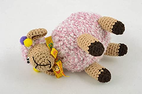 Homemade Crochet Toy Sheep - Homemade Crochet