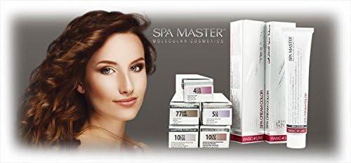 Spa Master Tinte Permanente Spa Master (7.11 Rubio Ceniza Plus) - 100 ml