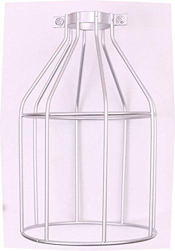 Silver Cage Pendant Light - 1