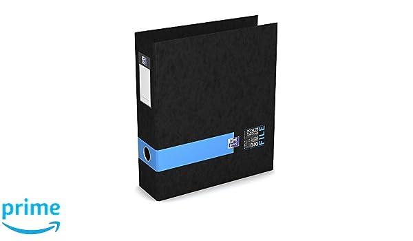 Oxford 400102181 Big File estudiantes archivador de palanca 28 x 32 cm Ancho 8 cm azul: Amazon.es: Oficina y papelería