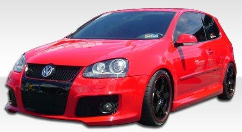 2006-2009 Volkswagen GTI/ Rabbit Duraflex OTG Kit - Includes OTG Front Bumper (105455), OTG Sideskirts (105456), OTG Rear Lip (105457) - Duraflex Body Kits (Otg Front Bumper)