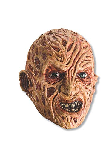 Rubie's Costume A Nightmare On Elm Street Freddy Krueger Mask, Red, One Size -