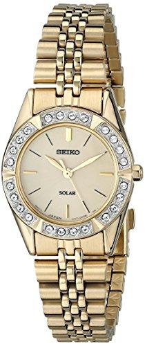"Seiko Women's SUP096 ""Dress Solar"" Classic Watch"