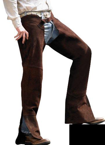 PFIFF Uni Leder Chaps, braun, L, 011298-50-L