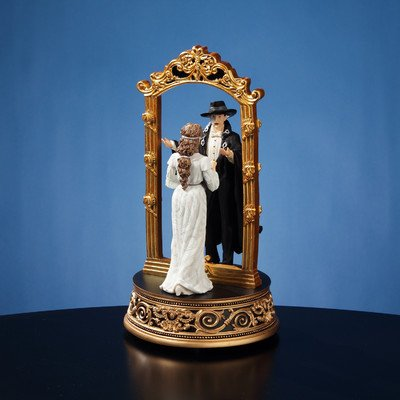 Phantom and Christine Mirror Figurine by The San Francisco Music Box Company - San Francisco Mirror