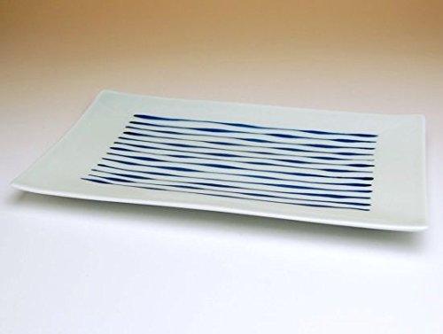 【5枚セット販売】【有田焼】つれづれ十草 焼皿 322141 【サイズ】23.7cm×14cm×高さ1.5cm B00VYM1KKW