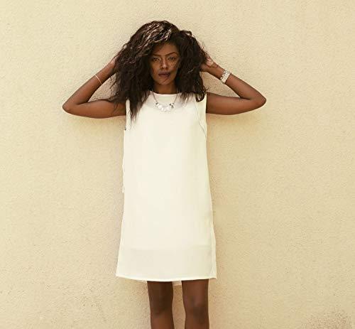 Mini dress women, White summer dress, Short white dresses, White shift dress, Short evening dresses, Short prom dress, All white dress