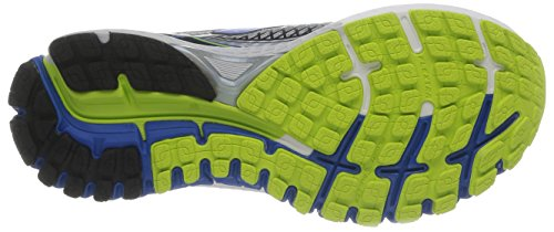 Brooks Adrenaline GTS 15 - Zapatos de running para hombre Blanco (White Olympic/Lime Punch)