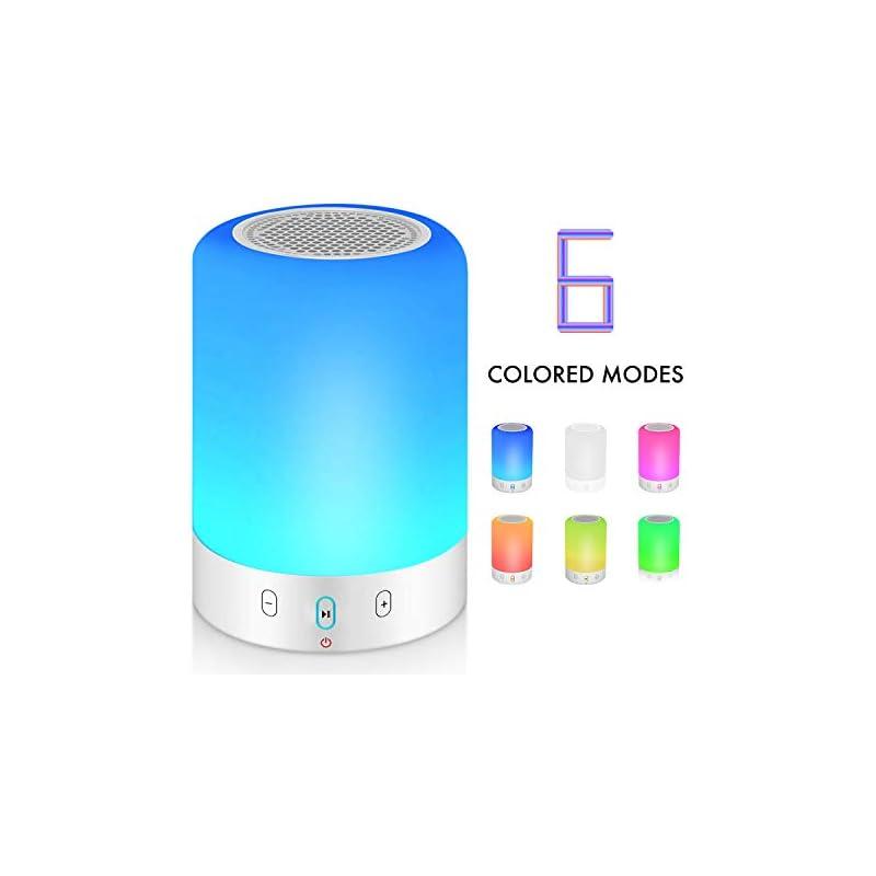 Night Light Bluetooth Speaker, Portable