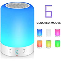 Night Light Bluetooth Speaker, Portable Wireless...