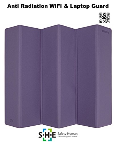 Price comparison product image SHE Anti radiation EMF protection Electromagnetic shield : WiFi guard (Violet)
