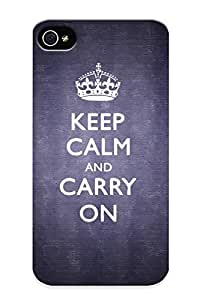Stylishgojkqt Premium Protective Hard Case For Iphone 4/4s- Nice Design - Keep Calm And