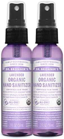 Hand Sanitizer: Dr. Bronner's