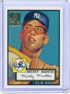 Amazoncom 1996 Topps Mickey Mantle Complete Baseball Card