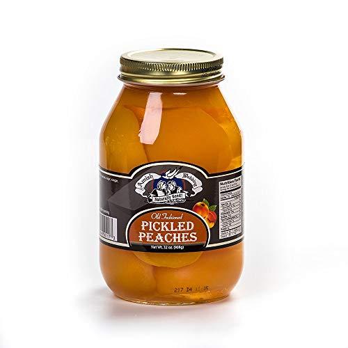 Pickled Peach Halves