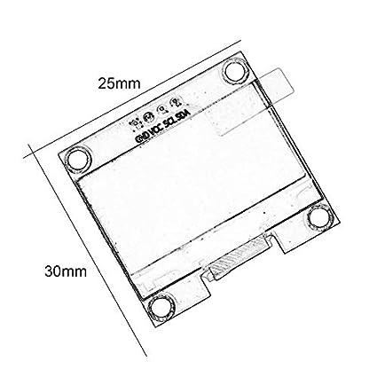 1 3 Inch 4 Pin I2c Iic Serial 128x64 Oled Lcd Led Display Module
