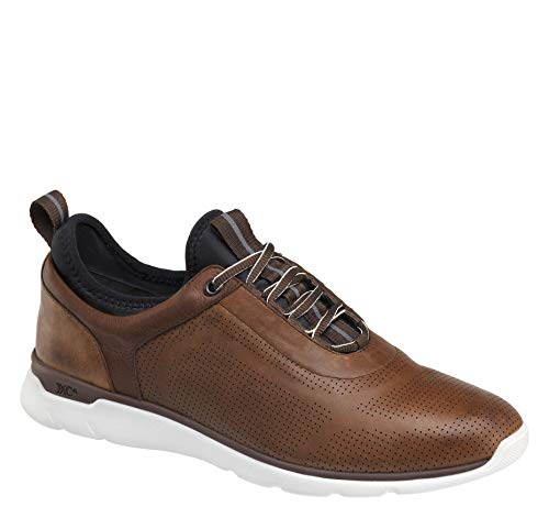 Johnston & Murphy Men's XC4 Prentiss U-Throat Shoe Mahogany Waterproof Leather 8 M/W ()
