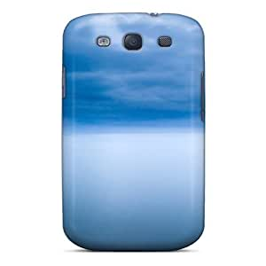 High Quality Blue Cloud Case For Galaxy S3 / Perfect Case