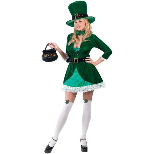Luscious Leprechaun Patricks Adult Costume