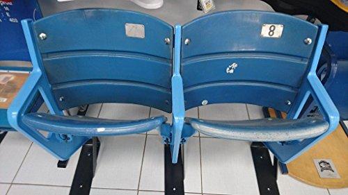 Yankee Stadium Original Seat Pair - New York Yankees - Game Used MLB Stadium Equipment New York Yankees Stadium Seat