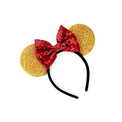 CL GIFT Winnie The Pooh Mickey Ears, Winnie The Pooh Ears, Beauty and The Beast Ears, Belle Ears, Belle Mickey Ears, Beauty and The Beast Ears, Gold Minnie Ears: Toys & Games