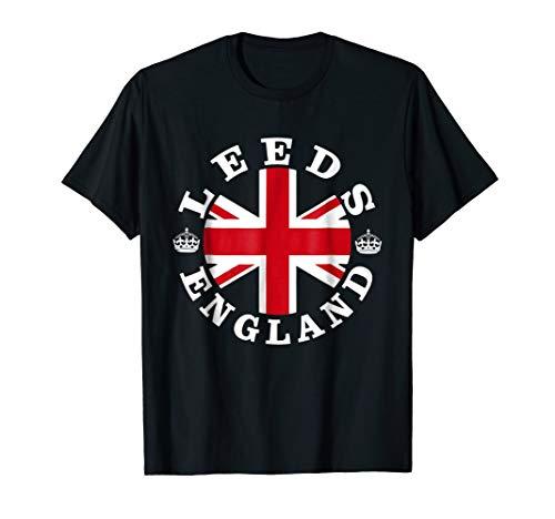 Leeds Retro Vintage British Union Jack T-Shirt