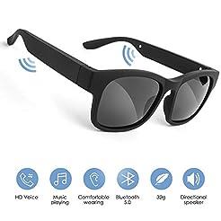 GELETE Smart Glasses Wireless Bluetooth ...