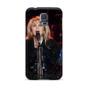 Durable Cell-phone Hard Cover For Samsung Galaxy S5 (aGZ14427SQfT) Allow Personal Design HD Rolling Stones Pictures