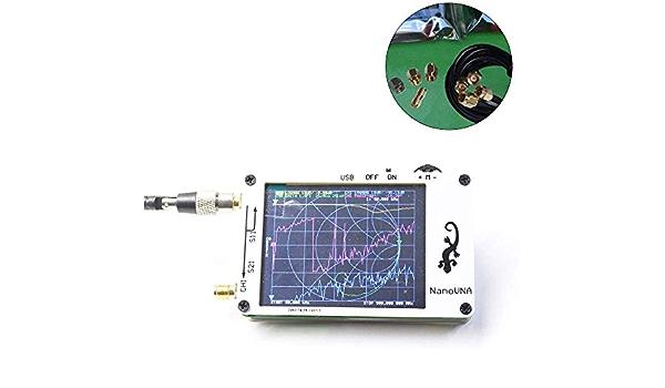 DENGHENG Analizador NanoVNA Vector Analizador 50 KHz ...