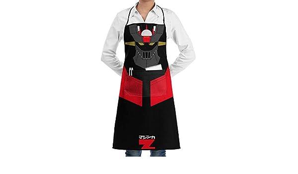 Johnson hop Mazinger Z Cocina Hornear Jardín Delantal del Chef ...