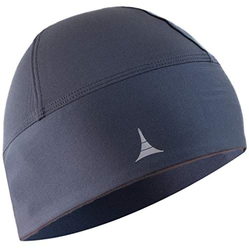 French Fitness Revolution Skull Cap/Helmet Liner/Running Beanie - Ultimate Thermal Retention and Performance Moisture Wicking. Fits Under Helmets ()