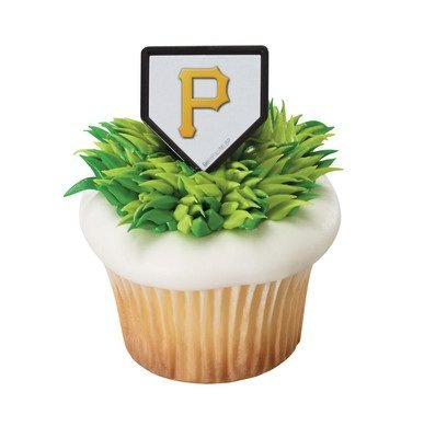 (MLB Pittsburgh Pirates Cupcake Rings - 24 ct)